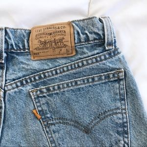 Urban Outfitters Shorts - Perfect distressed Levi's high waist denim shorts